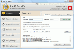 Dashboard 300x198 HideMyAss VPN Client Software