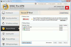 Secure IP Bind 300x198 HideMyAss VPN Client Software
