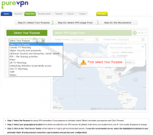 PureVPN VPN Location Helper