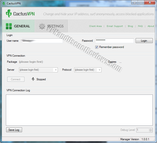 cactusvpn windows login credentials CactusVPN In Depth VPN Review and Full Speed Test!