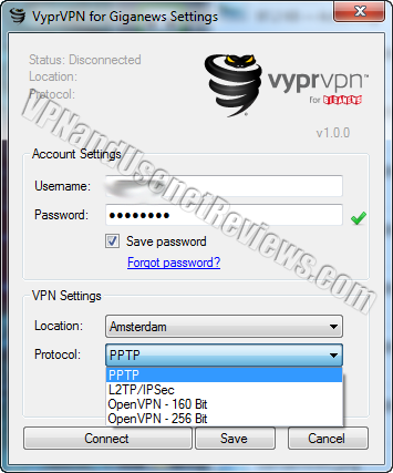 vyprvpn windows app protocol selection VyprVPN App for Giganews Review!