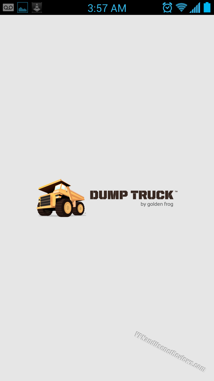 DumpTruck for Android Splash Screen