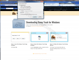 DumpTruck for Windows